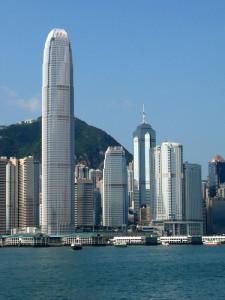 Фото здания IFC в Гонконге